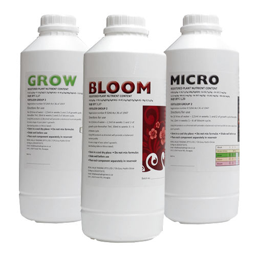 Micro, Grow, Bloom Bundle with homegrowers